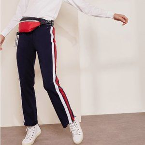 Tommy Jeans stripe detail jogger trackpants, XS